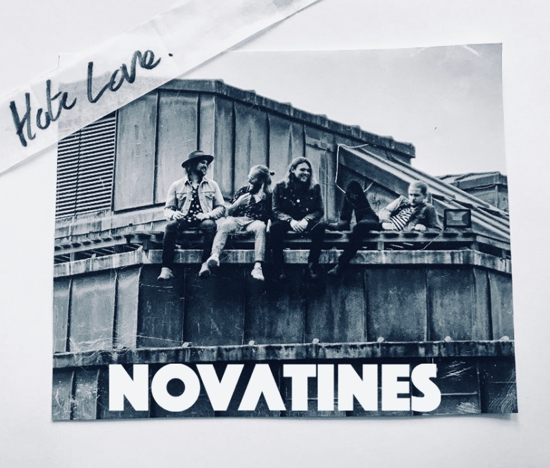 Novatines - Hate Love BW Single Artwork